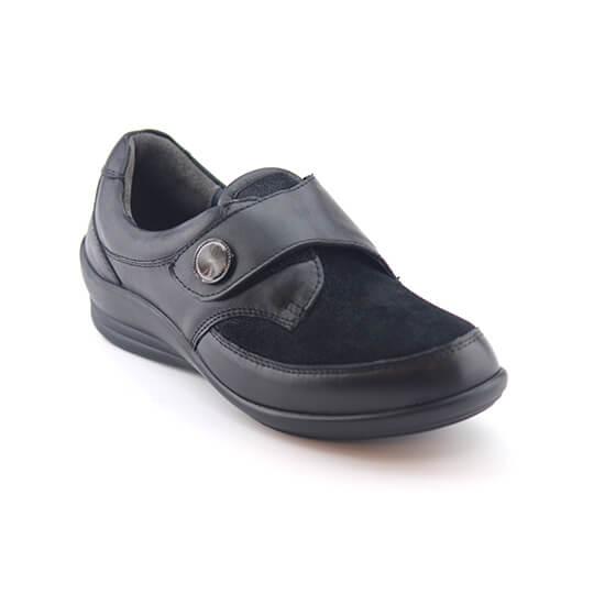 נעל סקוץ` לייקרה נקודות שחורות
