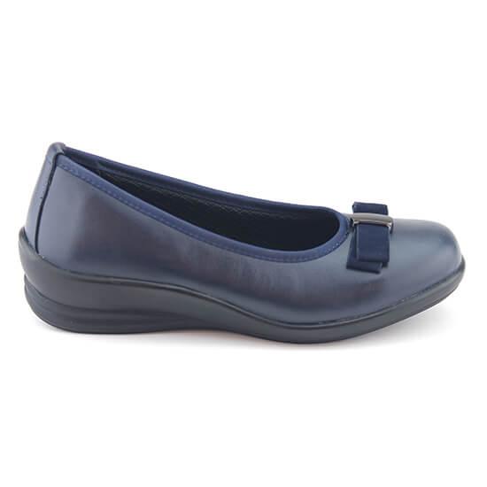 נעל בובה פפיון נייבי נפה+נובוק