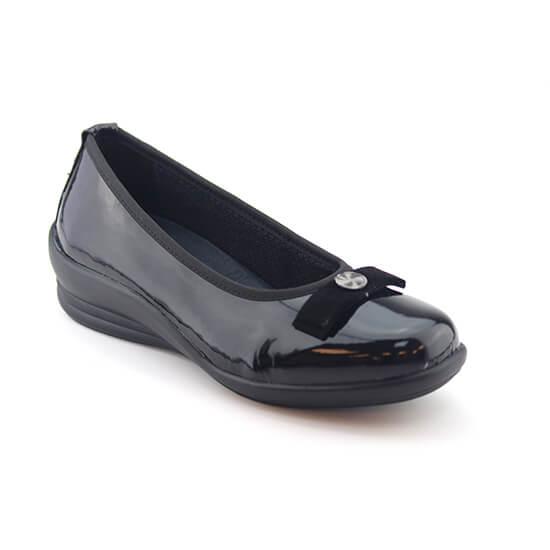 נעל בובה פפיון שחור