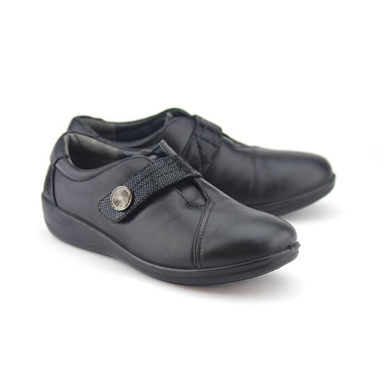 E. נעל סקוץ נפה+לקס שחור