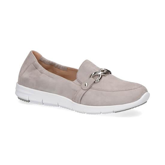 נעלי מוקסין נובוק עם אבזם