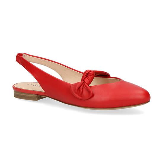 נעליים שטוחות עם קשר קדמי