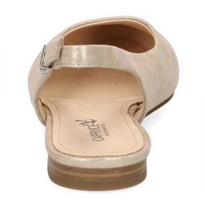 נעליים שטוחות עם רצועה מאחור