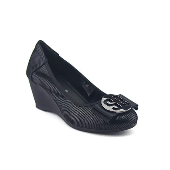 """נעלי סירה על סוליית רוקי 5.5 ס""""מ"""