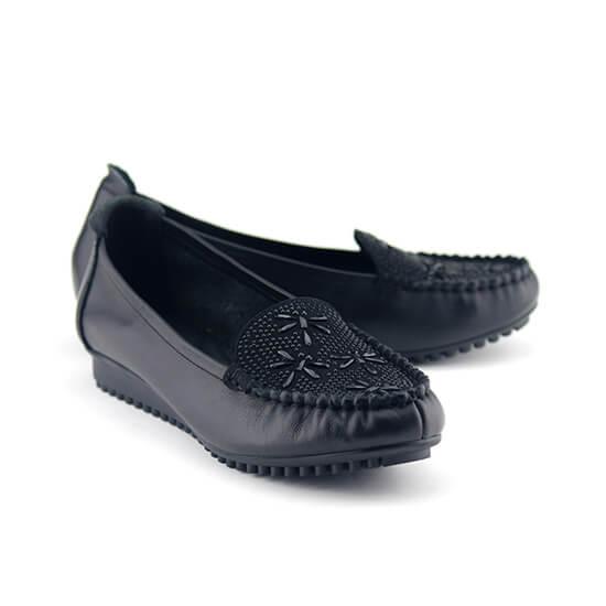 נעלי מוקסין סופר רכות עם עיטורי יהל