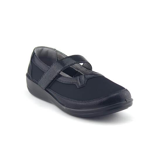 נעלי בובה אורטופדיות עם סקוץ