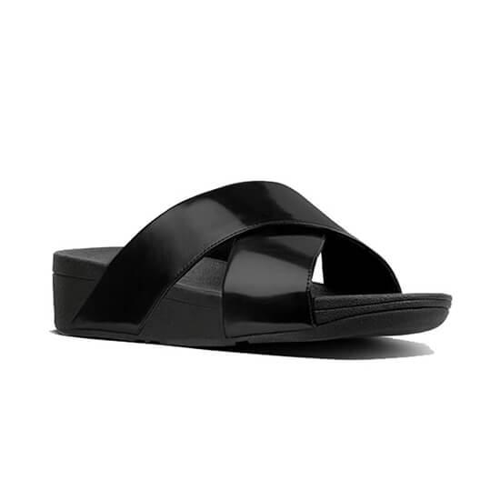 K55-484 לולו קרוס סלייד שחור