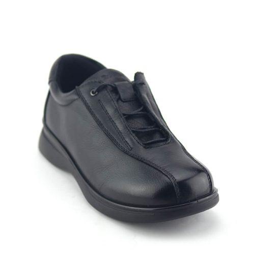 נעלי עור אורטופדיות רחבות